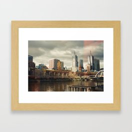 I Left My Heart in Melbourne Framed Art Print