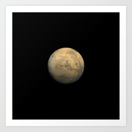 Nasa Picture 14: Mars Art Print