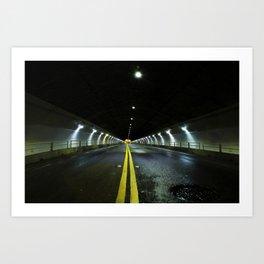 Stockton Tunnel San Francisco Art Print