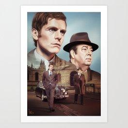 Oxford City Police Art Print