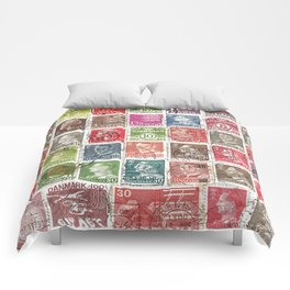 Old Stamps Comforters
