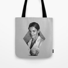 The girl who counted Tote Bag