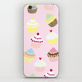Cupcakes iPhone Skin