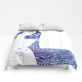 Water Nymph XL Comforters