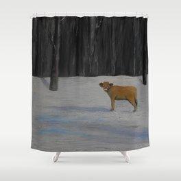 Kylee's Kenyon Calf Shower Curtain