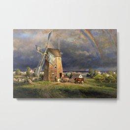American Masterpiece 'Old Hook Mill, East Hampton, Long Island' by Edward Henry Metal Print