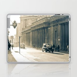 Old street that vanishes Laptop & iPad Skin