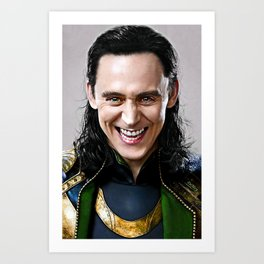 Loki -There Are No Men Like Me XVI Art Print
