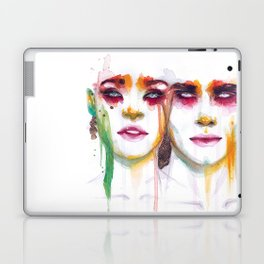 Silence and Echo Laptop & iPad Skin