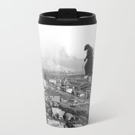 Old Time Godzilla Travel Mug