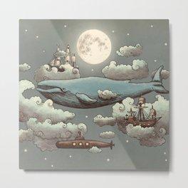 Ocean Meets Sky Metal Print