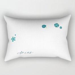 Aries Constellation Rectangular Pillow