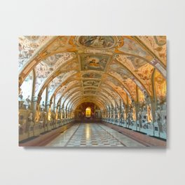 Munich Residenz, a Royal Residenz in Munich Germany 2017 Metal Print