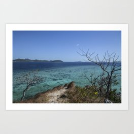 Off The Water - Coron, Palawan, Philippines Art Print