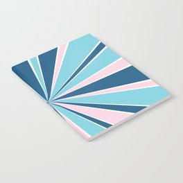 Starburst Pink and Blue Notebook