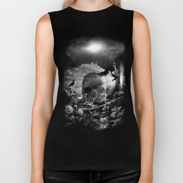 XIII. Death & Rebirth Tarot Card Illustration (Alternative Version) Biker Tank