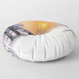 Tardis Dr Who Floor Pillow