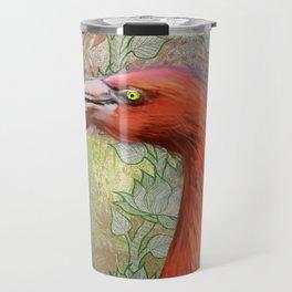 Red big bird Travel Mug