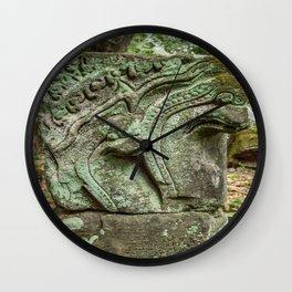 Baphuon Temple Ruins, Angkor Thom, Siem Reap, Cambodia Wall Clock