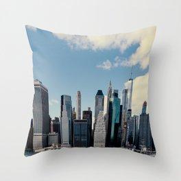 New York Tall Throw Pillow