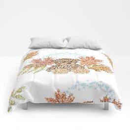 Autumn Bear Comforters