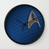 science Wall Clocks featuring Science by BinaryGod.com