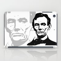 lincoln iPad Cases featuring LINCOLN $ by b & c