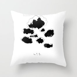 418 Throw Pillow
