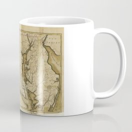 Map of the State of Maryland (1795) Coffee Mug