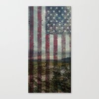 patriots Canvas Prints featuring Guns of the patriots by  Maʁϟ