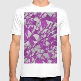 3D Abstract Futuristic Background T-shirt