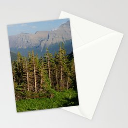 Mountains Beyond the Trees Stationery Cards