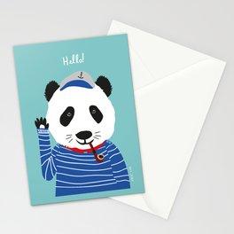 Mr. Panda Seaman Stationery Cards