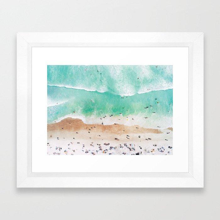 Beach Mood Framed Art Print