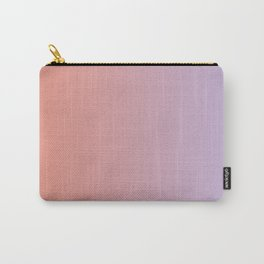 Lilac Orange Gradient Carry-All Pouch