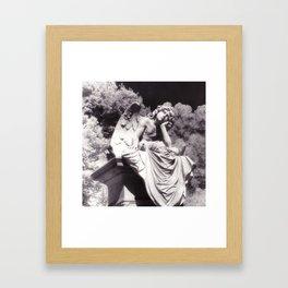 Oakland Angel Framed Art Print