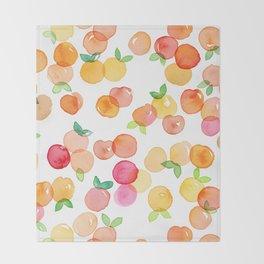 Peachy Throw Blanket