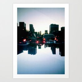Landscapes (Los Angeles #1) Art Print