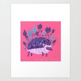 Muir Woods Hedgehog Art Print