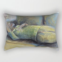 Sleepy Joe (c) 2017 Rectangular Pillow