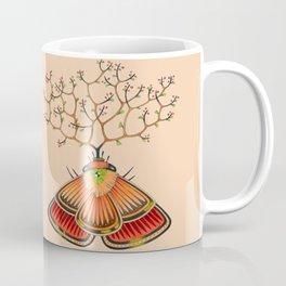 tree moth (ORIGINAL SOLD). Coffee Mug
