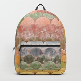 Watercolor art decó pattern Backpack