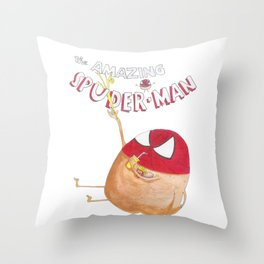 The Amazing Spuder-Man Throw Pillow
