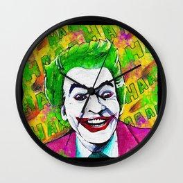 cesar the joker Wall Clock