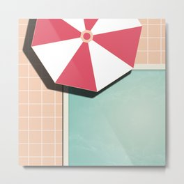Private Pool #society6 #decor #buyart Metal Print