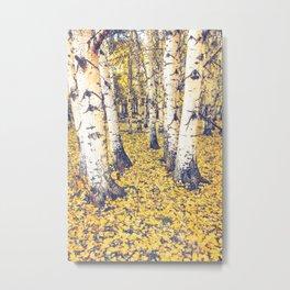 Golden Floor Metal Print