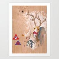 ofrenda y sacrificio / offering and sacrifice Art Print