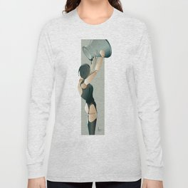 PAINTED BLACK Long Sleeve T-shirt