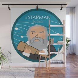 A Starman like Galileo Wall Mural