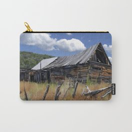 Old Barn, Trampas, New Mexico Carry-All Pouch
